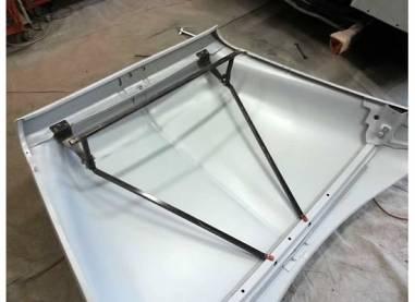 Watch 53 56 Ford F 100 Hood Tilt Kit Installation On